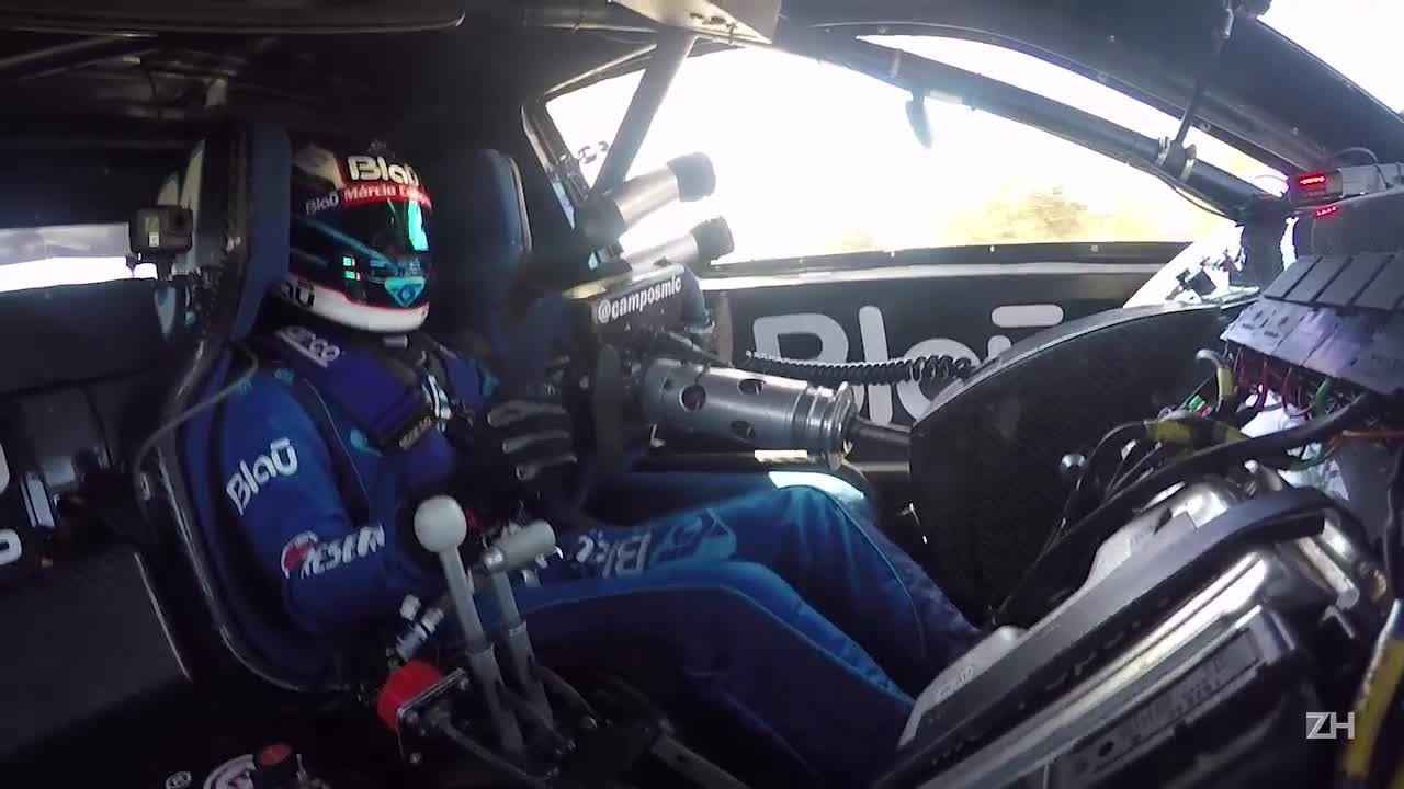 ZH acompanhou a comunicação entre Marcio Campos e a equipe Blau Motorsport na etapa de Curvelo da Stock Car