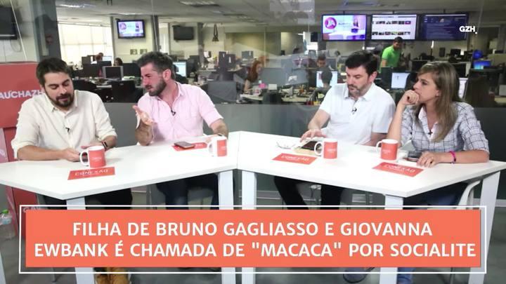 """Conexão GaúchaZH: Filha de Bruno Gagliasso e Giovanna Ewbank é chamada de \""""macaca\"""" por socialite"""