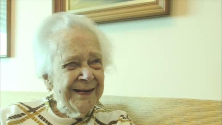 Heloisa, a centenária do bairro Auxiliadora