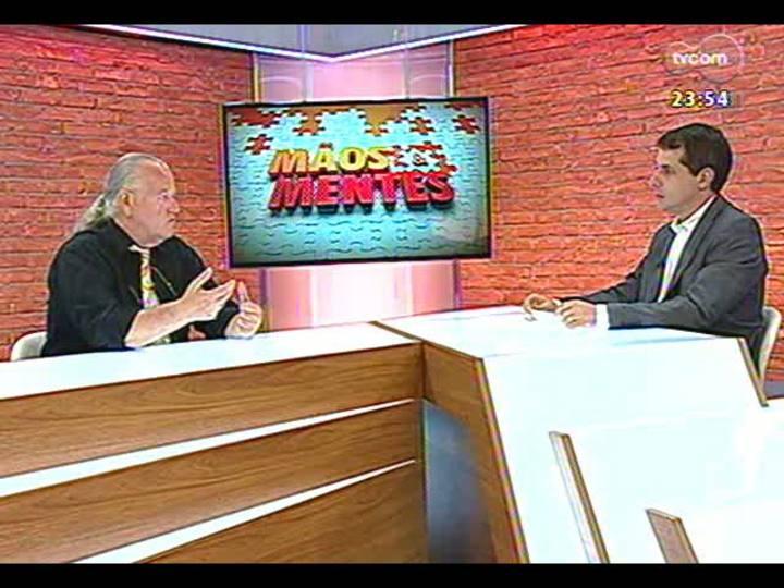 Mãos e Mentes - Maestro da Orquestra Jovem do RS, Telmo Jaconi - Bloco 3 - 18/01/2013