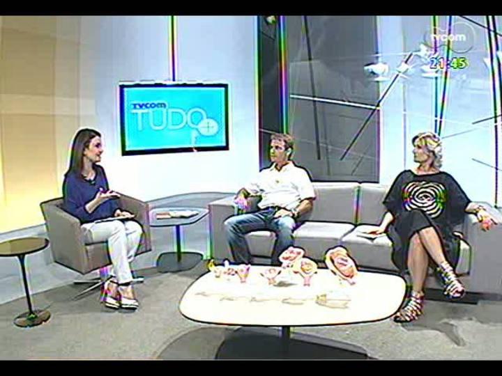 TVCOM Tudo Mais - Na barriga da mamãe: tecnologia que permite ver a fisionomia do bebê