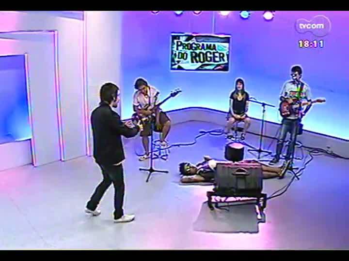 Programa do Roger - Confira a participação da banda De Falla - bloco 3 - 07/02/2013