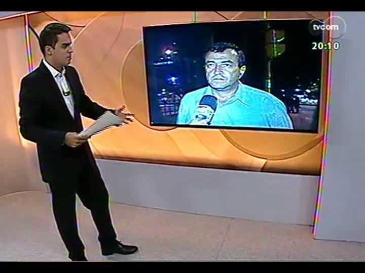 TVCOM 20 Horas - Diretor de trânsito da EPTC fala sobre a operação tartaruga - Bloco 2 - 19/02/2013