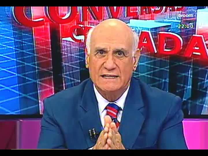 Conversas Cruzadas - As finanças do estado: entrevista com o secretário da Fazenda, Odir Tonollier - Bloco 1 - 12/04/2013