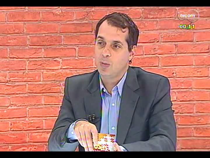 Mãos e Mentes - Diretor-presidente do Grupo Baram, empresário Josely Rosa - Bloco 1 - 25/03/2013