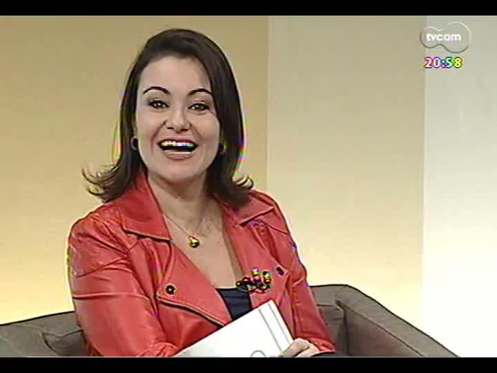 TVCOM Tudo Mais - Conversa com a jornalista e cantora Raquel Carneiro direto de Munique