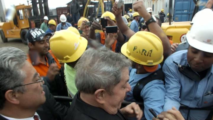 Lula visita Polo Naval em Rio Grande
