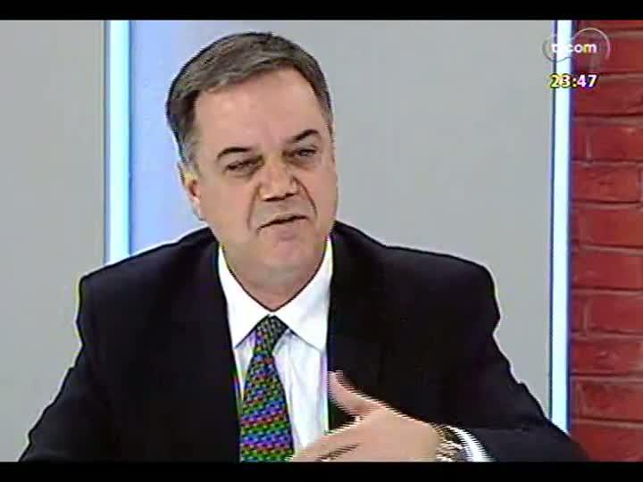 Mãos e Mentes - Secretário da Fazenda de Porto Alegre, Roberto Bertoncini - Bloco 2 - 10/07/2013