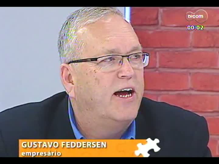 Mãos e Mentes - Gustavo Feddersen, sócio-diretor da Axell Banheiras e Spas - Bloco 3 - 05/08/2013