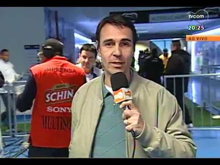 TVCOM 20 Horas - Informações sobre o jogo do Grêmio x Coritiba - Bloco 3 - 08/08/2013