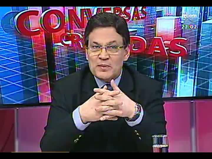 Conversas Cruzadas - Debate sobre o descontrole nos acessos ao sistema de dados sigilosos do RS - Bloco 1 - 13/08/2013