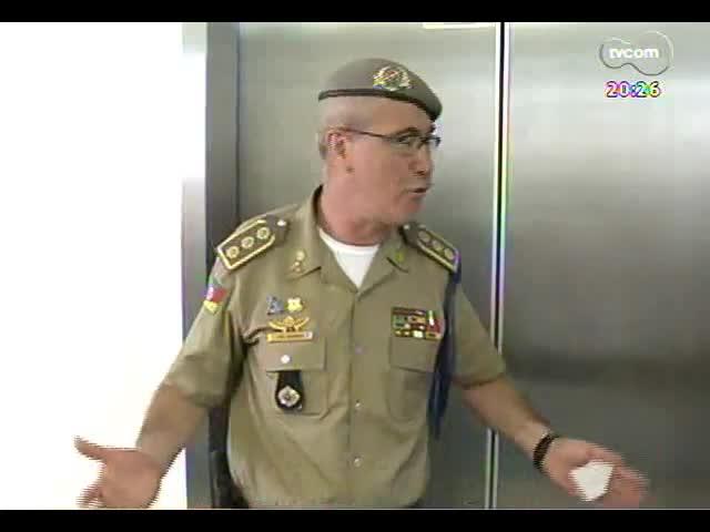 TVCOM 20 Horas - Informações sobre a reunião que discutiu a saída da Brigada Militar nos estádios de futebol - Bloco 3 - 11/09/2013