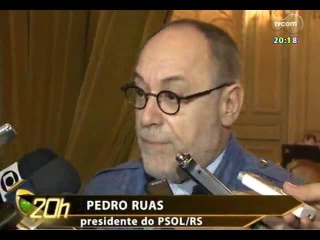 TVCOM 20 Horas - Análise do quebra-cabeça eleitoral com as novas legendas que estão surgindo - Bloco 2 - 03/10/2013