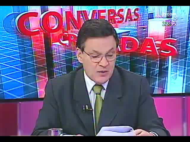 Conversas Cruzadas - Debate sobre a rapidez com que o negócio de Eike Batista faliu e as possibilidades de recuperação judicial da OGX - Bloco 2 - 01/11/2013