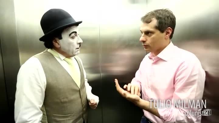 """Conversa de Elevador: \""""Já servi de cupido para vários casais\"""", diz Pedro Milone"""
