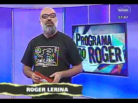 Programa do Roger - Roger Lerina recebe o cantor, compositor e violinista Alex Alano - Bloco 1 - 20/01/2014