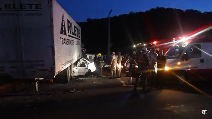 Homem morre em acidente na ERS-239, em Novo Hamburgo