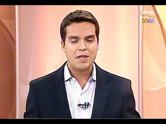 TVCOM 20 Horas - Quais as chances de a Arena do Grêmio sediar jogos da Copa caso obras do estádio de Coritiba não fiquem prontas? - Bloco 3 - 28/01/2014