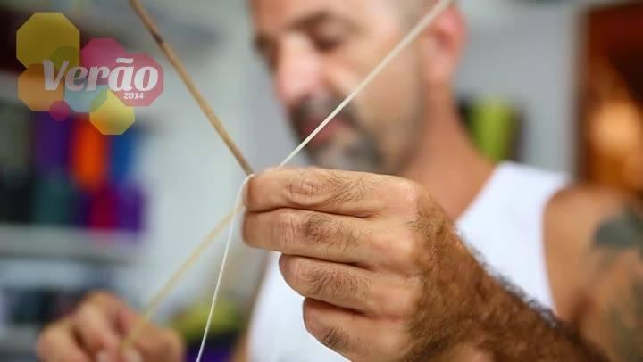 Tutorial de Verão: aprenda a montar uma pipa