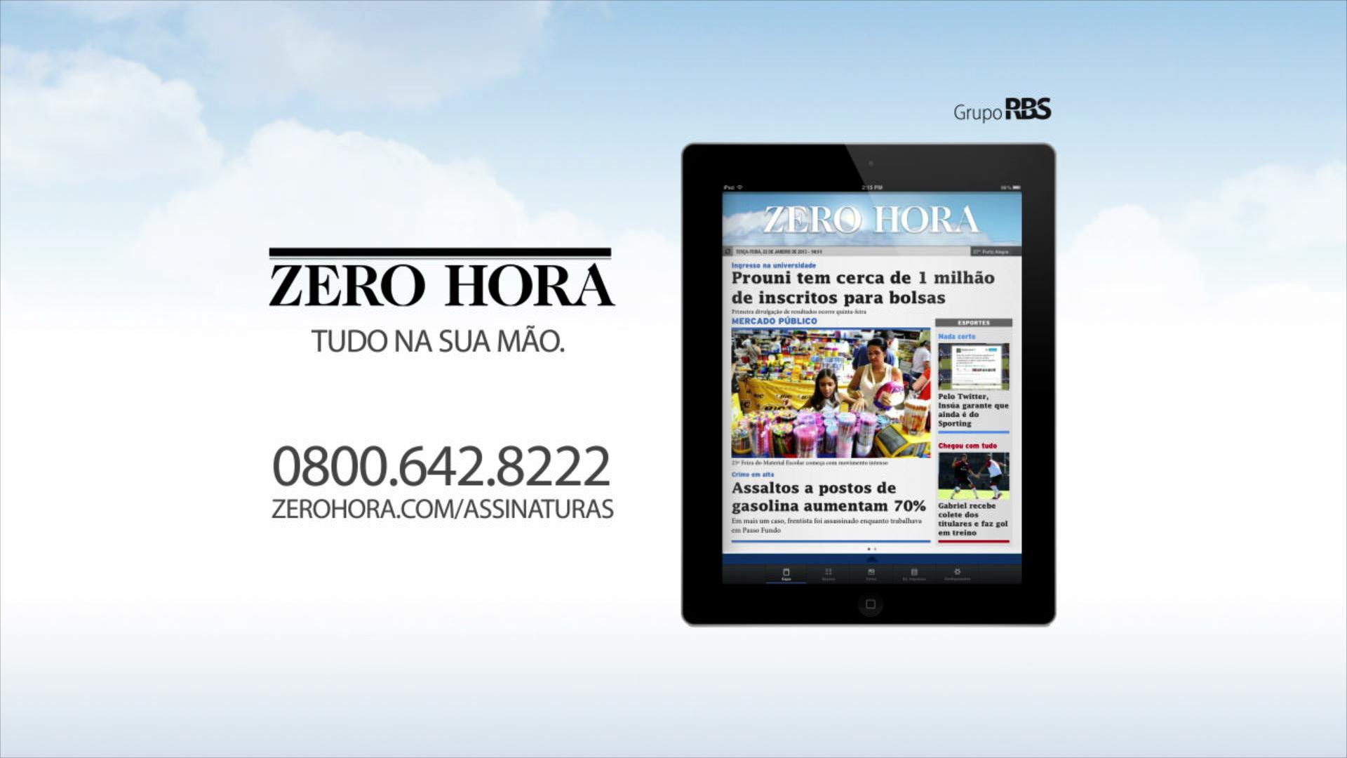 Leia na Zero Hora desta quinta-feira (24/04/2014)