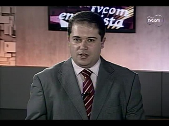 TVCOM Entrevista - Sander Demira - 3º bloco