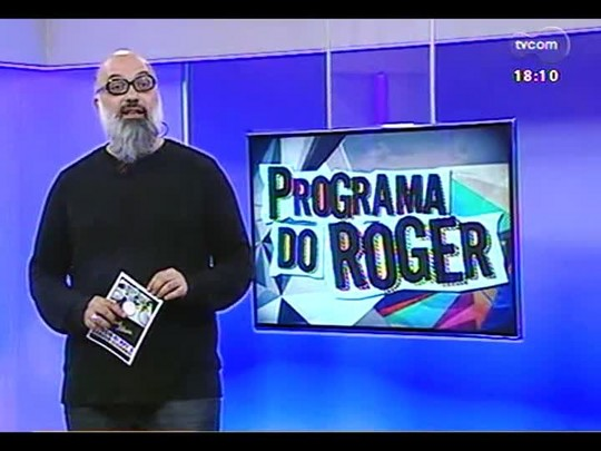 Programa do Roger - All By My Side + Banda El Rei - Bloco 3 - 07/07/2014