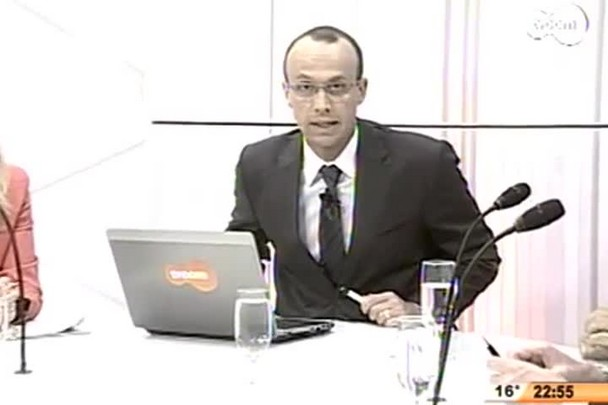 Conversas Cruzadas - Entrevista com os candidatos a vice-governador Joares Ponticelli (PP) e Eduardo Pinho Moreira (PMDB) - 4º Bloco - 04/08/14