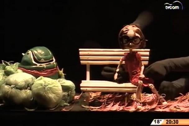 TVCOM 20 Horas - Festival de animação Fita tem apresentações em 11 cidades de SC - 3º Bloco - 18/08/14