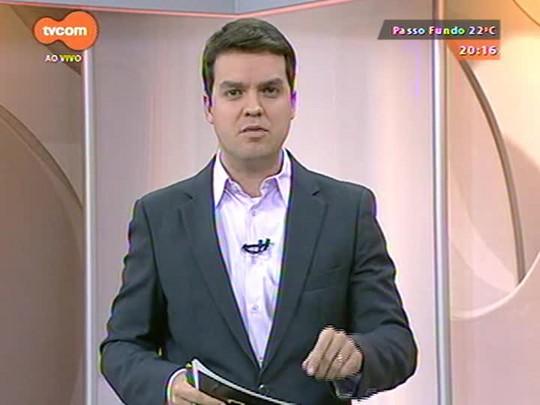 TVCOM 20 Horas - Preso suspeito de colocar fogo na casa da gremista Patrícia Moreira, acusada de atos racistas na Arena - Bloco 2 - 12/09/2014