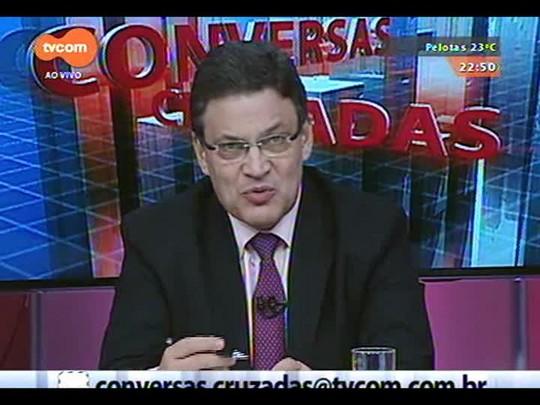 Conversas Cruzadas - Debate sobre os reflexos do Dólar na economia - Bloco 3 - 17/12/2014