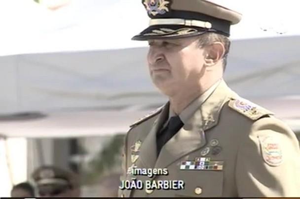 TVCOM 20h - Coronel Paulo Henrique Hemm assumiu comando geral da Polícia Militar em Santa Catarina - 8.1.15