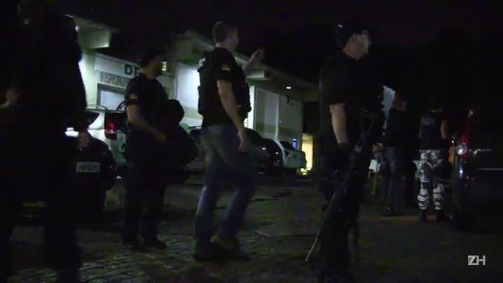 Polícia prende suspeitos de assalto a banco