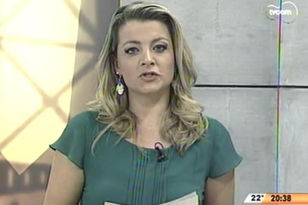 TVCOM 20 Horas - Cantor Léo Rodriguez fala sobre as expectativas na Festa do Pinhão de quarta-feira - 03.06.15