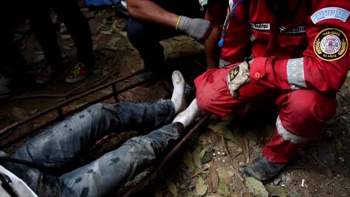 Deslizamento deixa mortos e desaparecidos na Guatemala