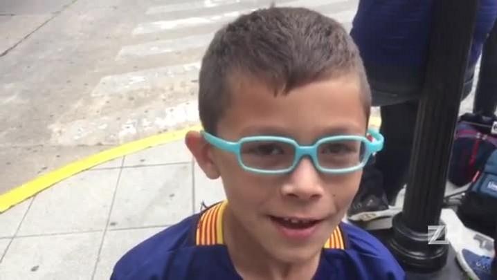 Pequeno argentino é fã de Neymar