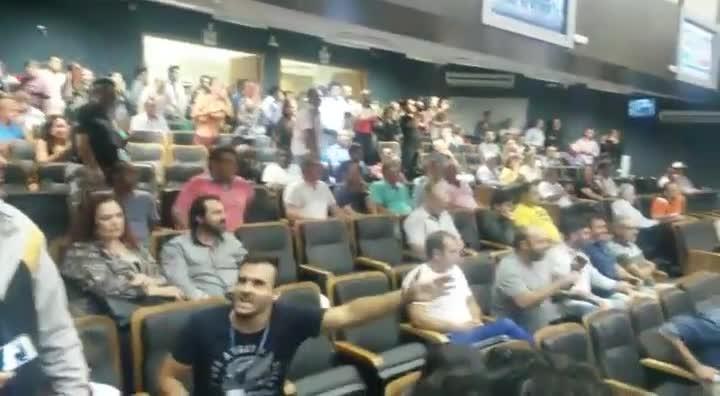Retorno de José Alvercino Ferreira à Câmara de Vereadores de Itajaí