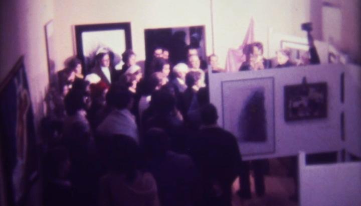 Inauguração da Pinacoteca Aldo Locatelli, em 5 de junho de 1975
