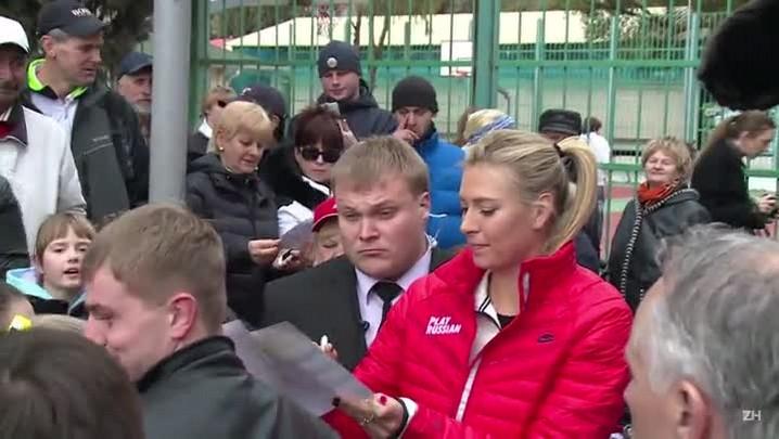Sharapova é suspensa por dois anos por uso de meldonium