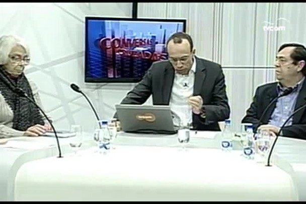 TVCOM Conversas Cruzadas. 2º Bloco. 09.06.16