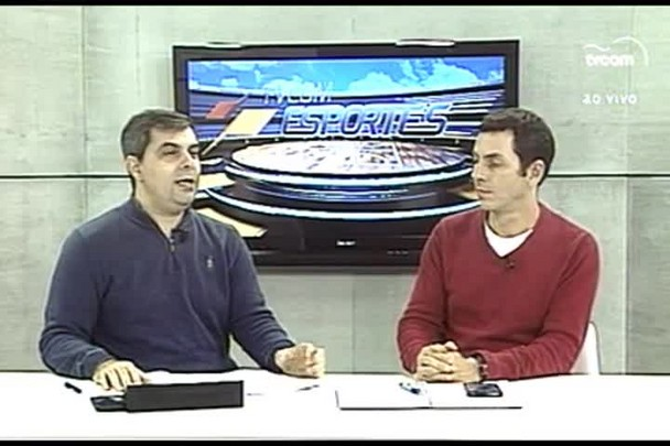 TVCOM Esportes. 2º Bloco. 29.06.16
