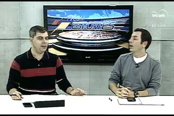 TVCOM Esportes. 1º Bloco. 07.07.16