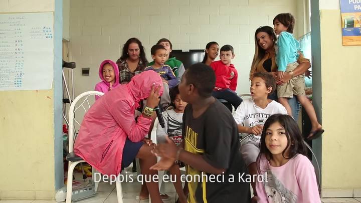 Entidade quer mudar a realidade de crianças da Chico Mendes