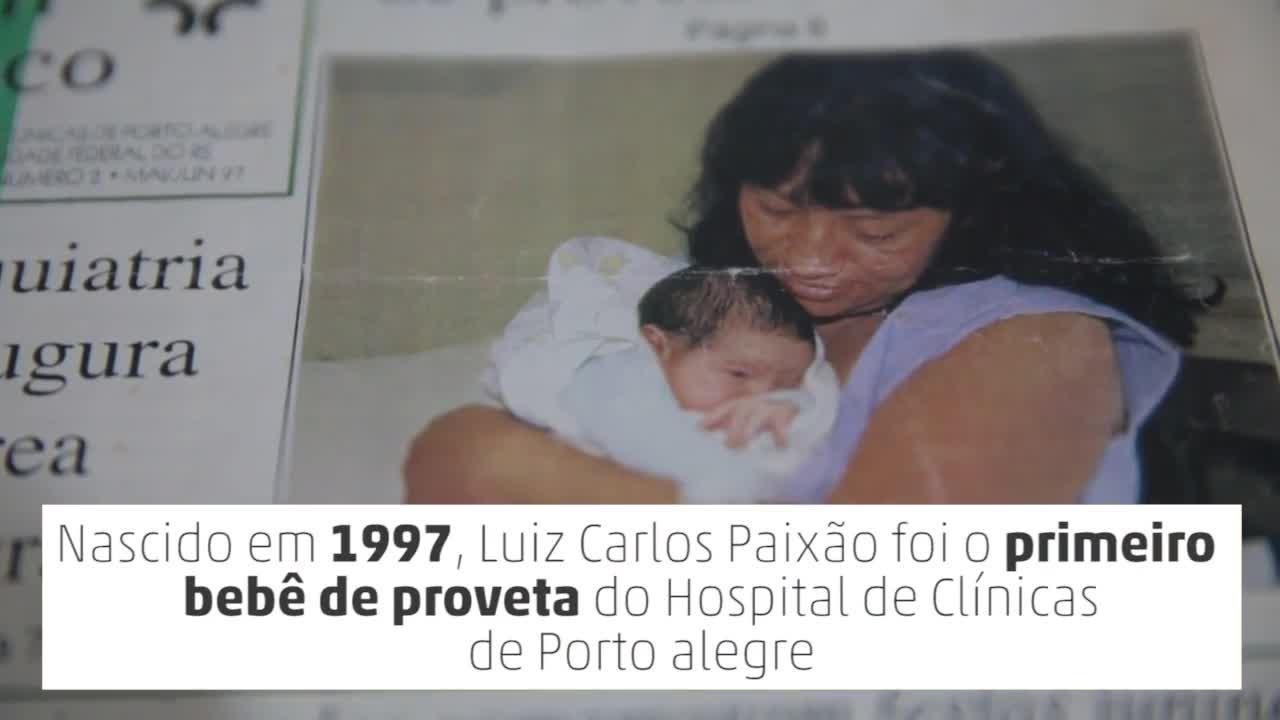 20 anos do primeiro bebê de proveta do Estado
