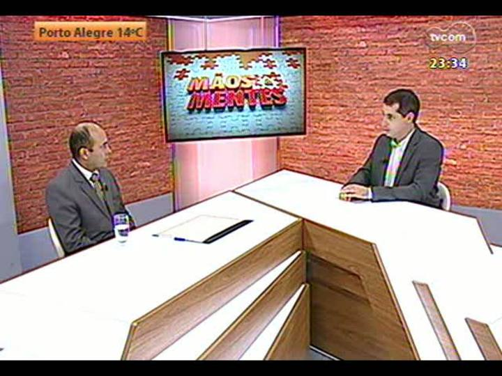 Mãos e Mentes - Superintendente regional da Infraero, Carlos Alberto da Silva Souza - Bloco 1 - 29/05/2013