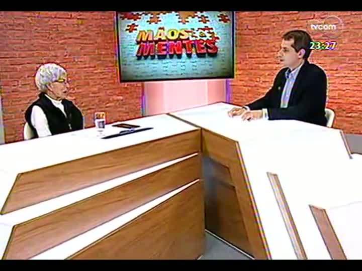 Mãos e Mentes - Presidente da Fundação Theatro São Pedro, Eva Sopher - Bloco 3 - 09/06/2013
