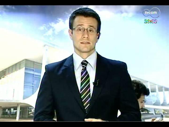 TVCOM 20 Horas - Informações sobre a ida do prefeito Fortunati a Brasília para discutir isenções para tarifa de ônibus - Bloco 1 - 19/06/2013