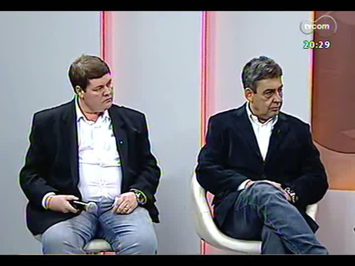 TVCOM 20 Horas - Edição especial com tudo sobre o incêndio no Mercado Público de Porto Alegre - Bloco 2 - 07/07/2013