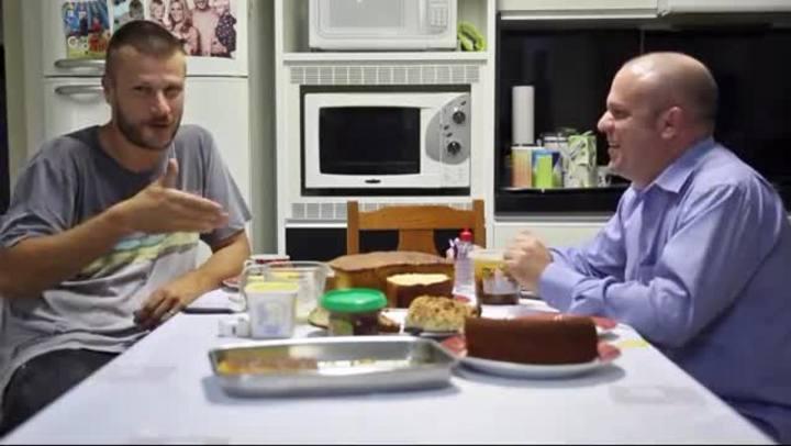 Casa, comida e Rodrigo Hilbert