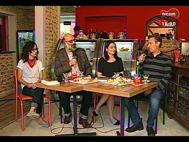 Café TVCOM - Um bate papo com a colunista de Zero Hora Carol Bensimon direto da Spritzeria Pane & Spritz - Bloco 1 - 19/10/2013