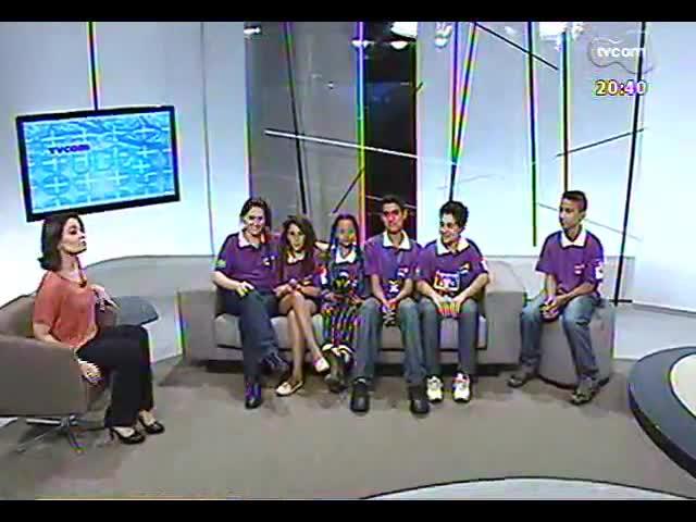 TVCOM Tudo Mais - Conheça os alunos de uma escola municipal de Porto Alegre classificados para o campeonato mundial de robótica